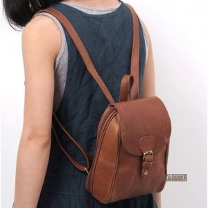 small leather backpack, but in black