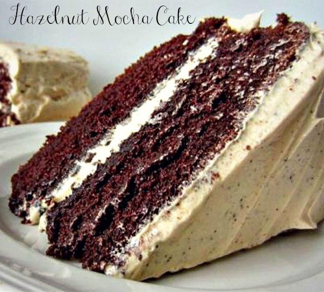 Get #baking! #Hazelnut #MochaCake