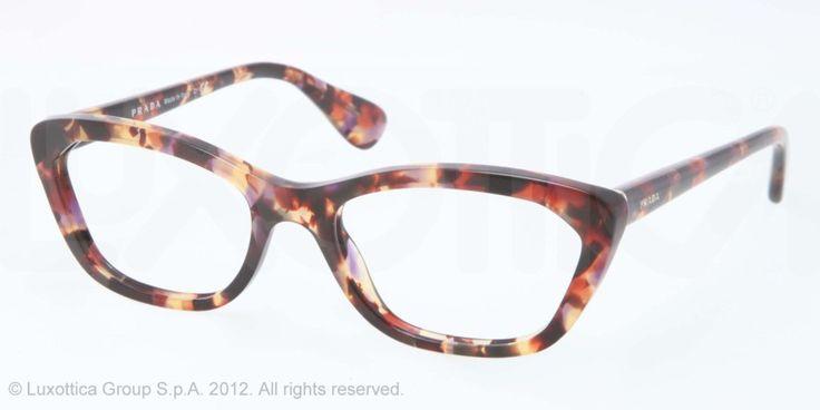 Prada PR 03QV Eyeglasses   Women's Retro Eye Glasses Have these, hate these.