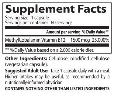 B12 Supplement Knowledge