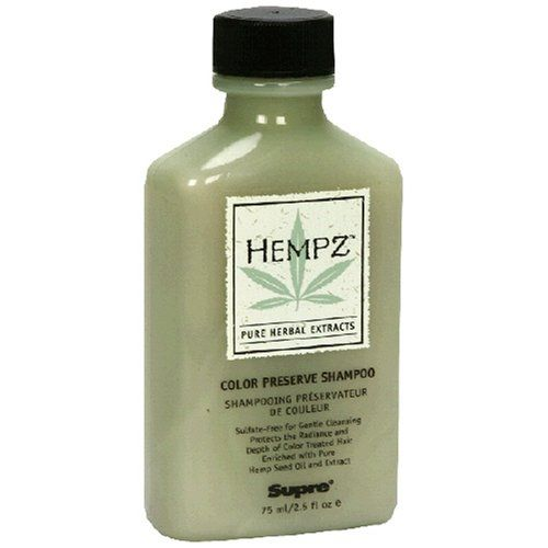 Hempz Pure Herbal Extracts Color Preserve Shampoo, 2.5 fl oz (75 ml) (Pack of 3) *** Check this awesome product by going to the link at the image.