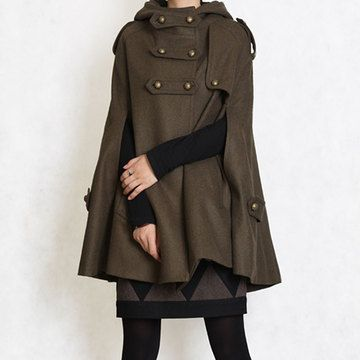 Sherlock Holmes Cape. I so totally want this!