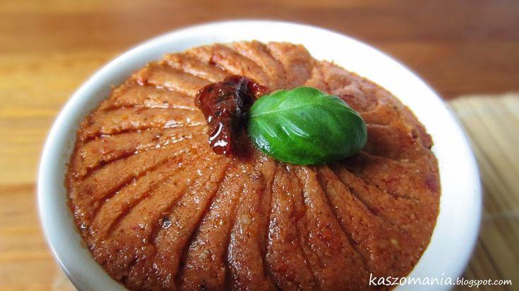 Kaszomania - pomysły na dania z kaszy jaglanej: Pasta kanapkowa z kaszy jaglanej i suszonych pomid...