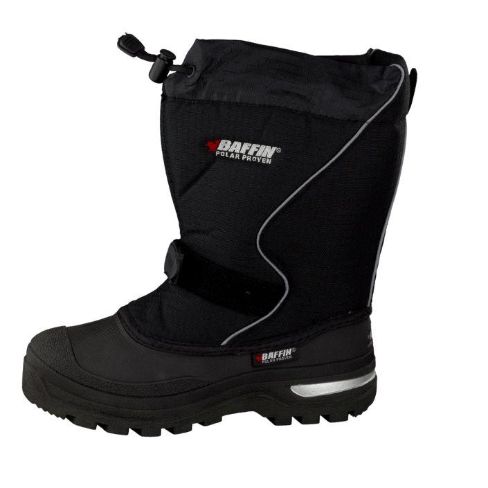 Kjøp Baffin Mustang Black Svarte sko | Høye boots for Barn ✓ Fri frakt ✓ Fri retur ✓ Rask levering. Prisgaranti!