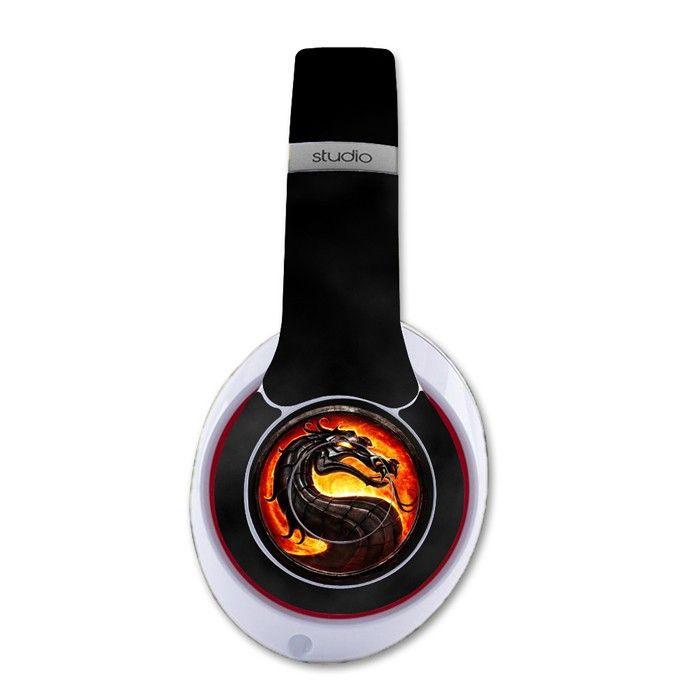 Fire Dragon decal for Monster Beats Studio 2.0 wireless headphones