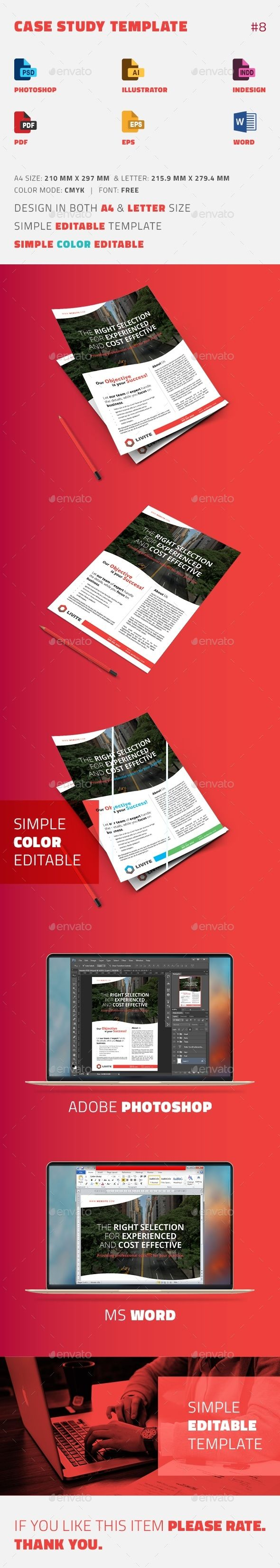 9 best Case Study Templates images on Pinterest | Page layout, Case ...