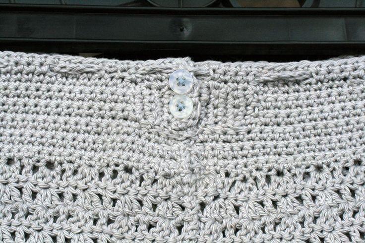 Crochet Skirt Back