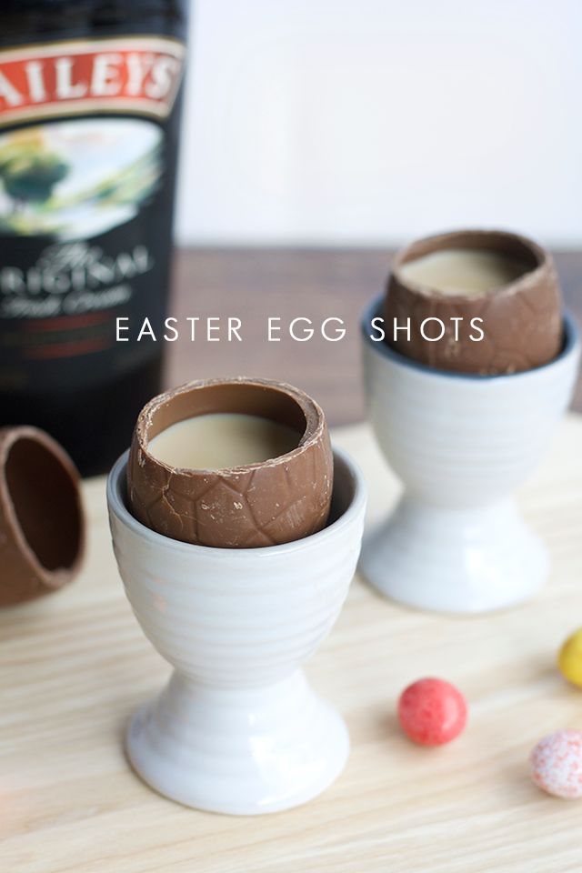 Easter Egg Shots