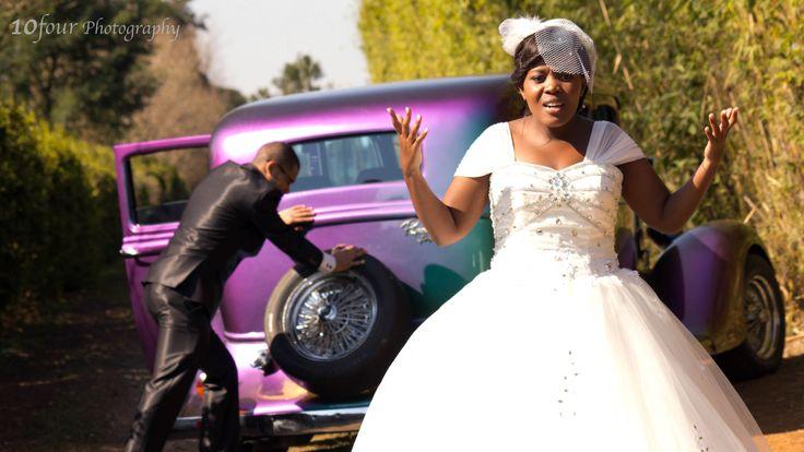 #WeddingPhotography #VintageCar #10fourPhotography www.facebook.com/10fourPhotography #VintageHotRod #Breakdown #Photography #Wedding #Purple