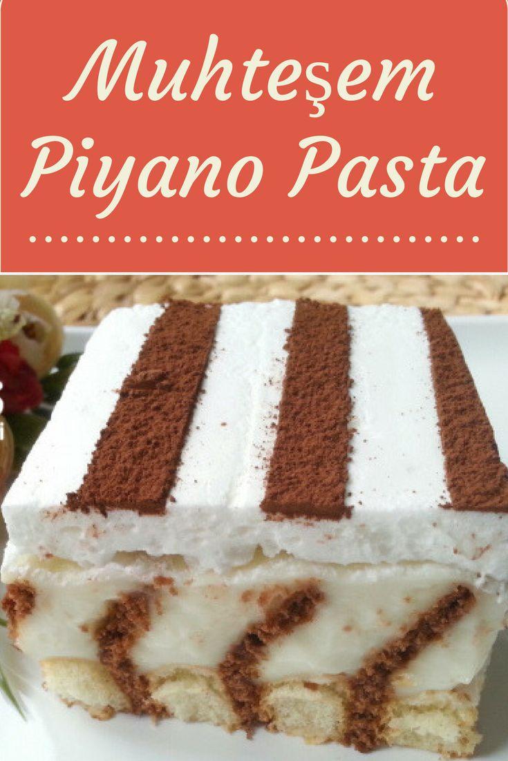 Piyano Pasta Tarifi nasıl yapılır? 5.769 kişinin defterindeki Piyano Pasta Tarifi'nin resimli anlatımı ve deneyenlerin fotoğrafları burada. Yazar: Yeliz'in Tatlı Mutfağı