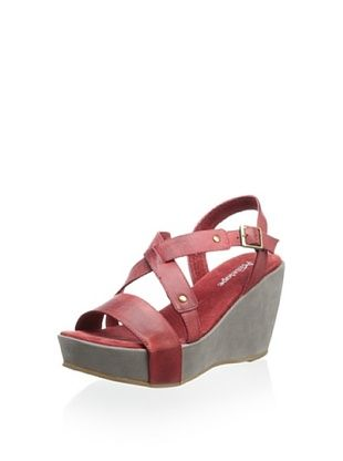 60% OFF Antelope Women's Wedge Sandal (Red)