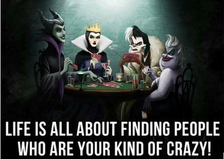 3.	Have you found your types of crazies?   Tag your buddies!