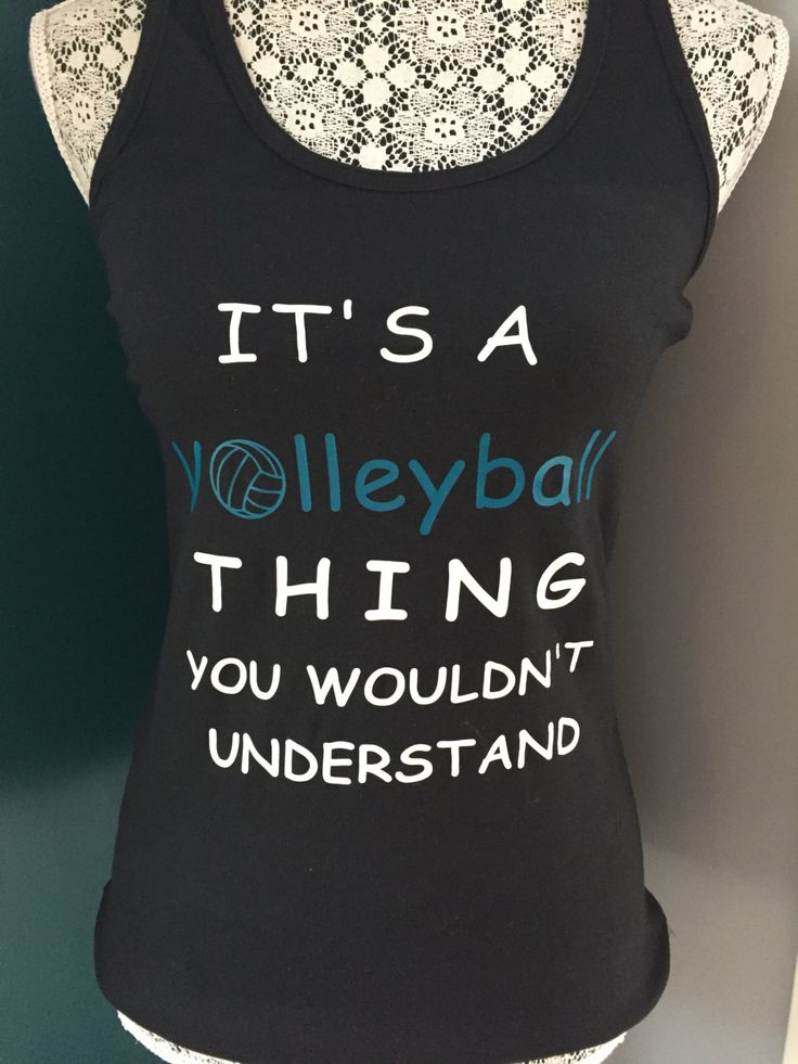It's a Volleyball Thing You Wouldn't Understand Tank Top, Volleyball, Shirt, Sports, Teen, Women, Clothing by MeggieLousDesigns on Etsy