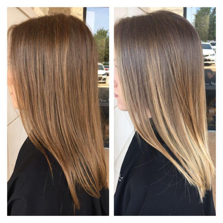 Hellbraun blonde haare