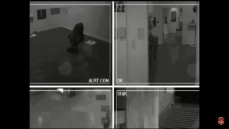 Unseen Russian Museum Ghost, Real, scary Ghost videos - YouTube