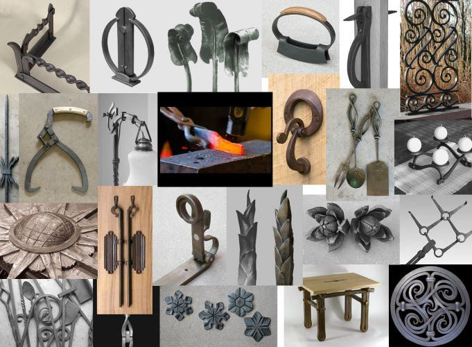Blacksmith's Journal – Step-by-Step Blacksmithing Projects to Make Ornamental Iron Elements and Products
