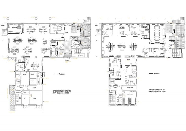 9 best images about office layout design ideas on for Cubicle floor plan