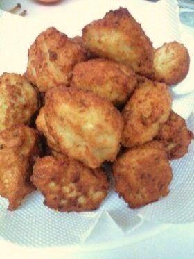 鶏ひき肉と豆腐のナゲット♪
