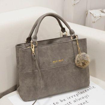 2015 free shipping  winter fashion nubuck leather handbag vintage messenger bag handbag women's decoration bulb shoulder bag