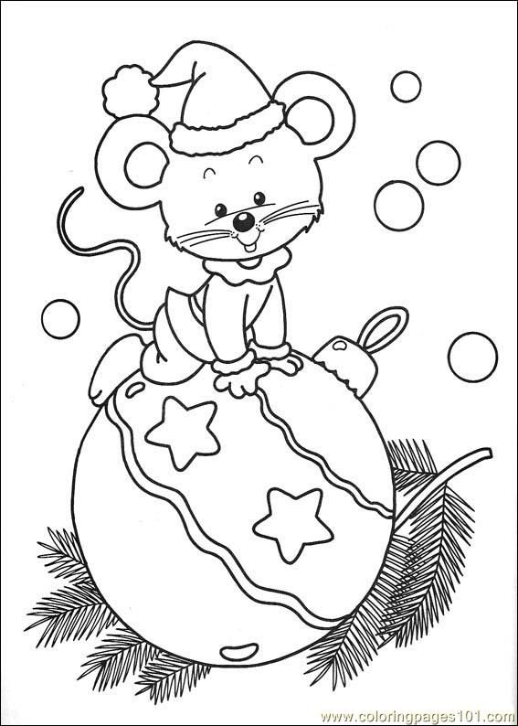 free christmas coloring pages to print | free printable coloring page Christmas 76 (Cartoons > Christmas)