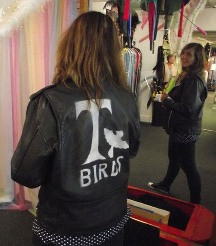 GREASE T-BIRDS LEATHER JACKET – Mad World Fancy Dress