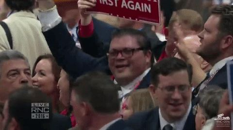 New trending GIF on Giphy. dance dancing crowd audience rnc republican national convention rnc 2016. Follow Me CooliPhone6Case on Twitter Facebook Google Instagram LinkedIn Blogger Tumblr Youtube