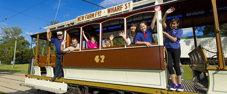 Take your Brisbane Kids on a trip down memory lane with a visit to the Brisbane Tramway Museum in Ferny Grove, and see how Brisbane Kids travelled around o