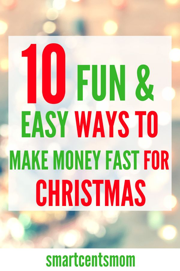 Make quick cash for Christmas with these easy ways to earn! – Useful information