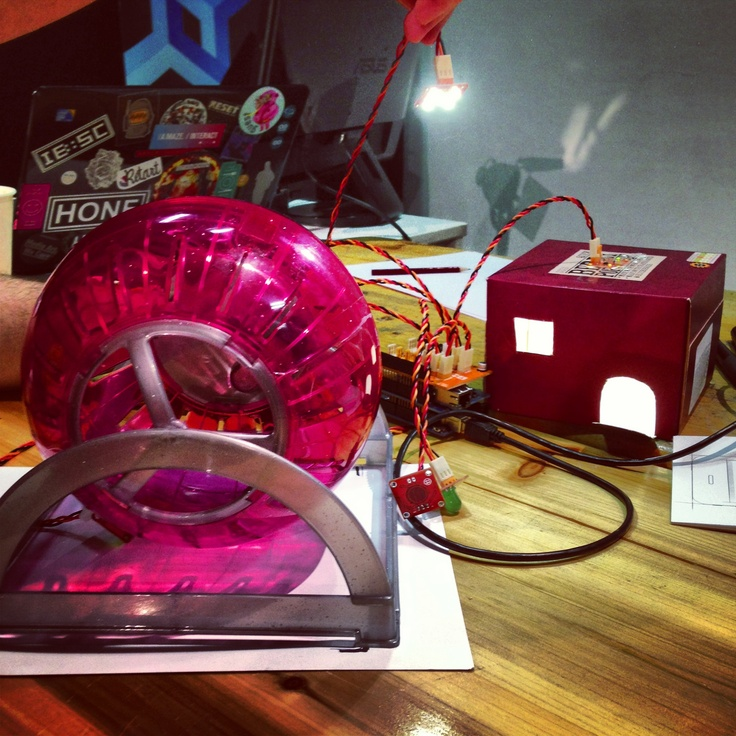 Smart hamster cage #arduino