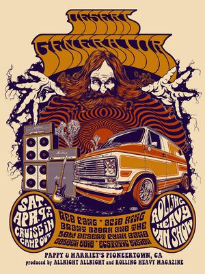 Desert Generator, Red Fang, Brant Bjork and The Low Desert Punk Band, Acid King, Golden Void, Ecstatic Vision