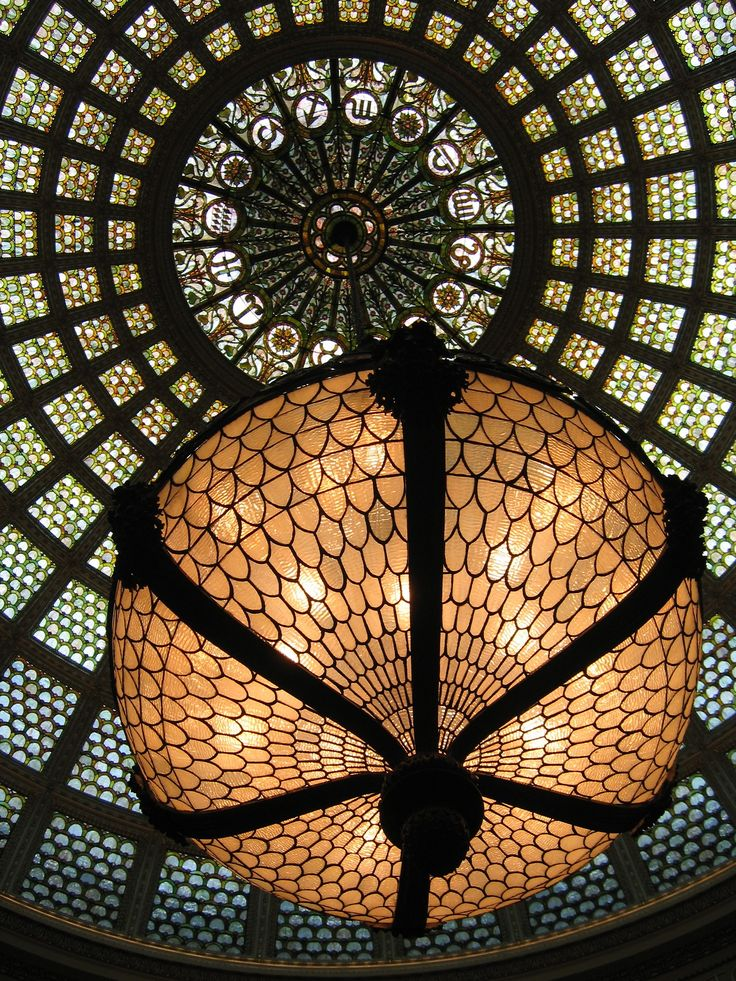 tiffany chandelier and dome chicago cultural center a masterpiece of american decorative arts - Tiffany Chandelier