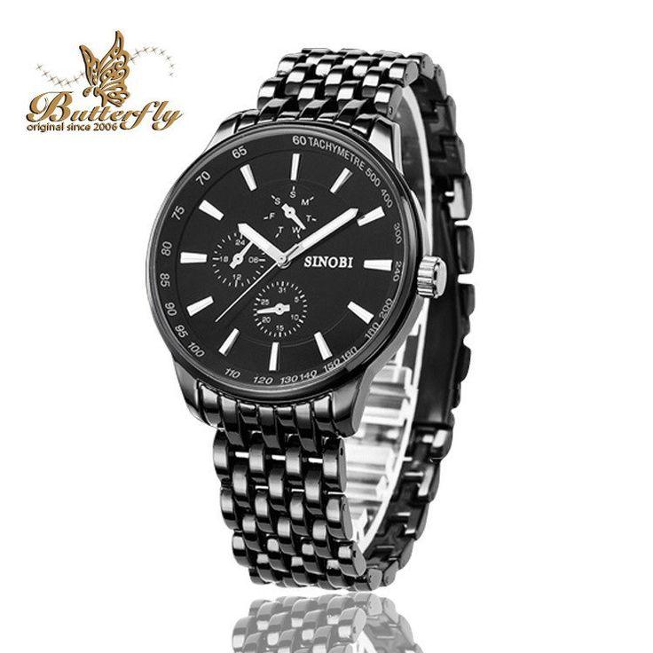 SINOBI Business Casual Cool Quartz Stylish Watches For Men