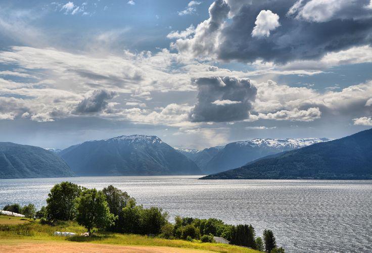 Sognefjorden, near Vangsnes
