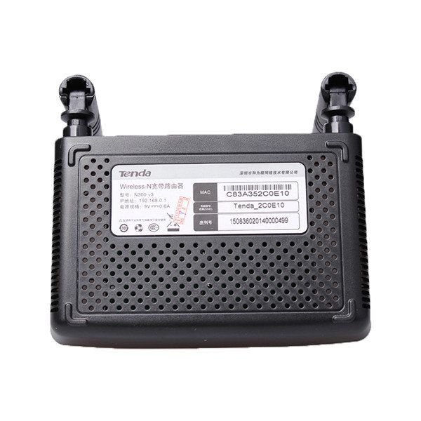 Original Tenda N300 English Firmware Version 300Mbps Wireless WIFI Router Sale - Banggood.com