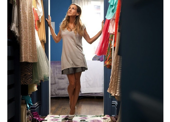 It's not what you can afford - it's how much you can save...even though Carrie Bradshaw loved having her money hanging right in her closet...
