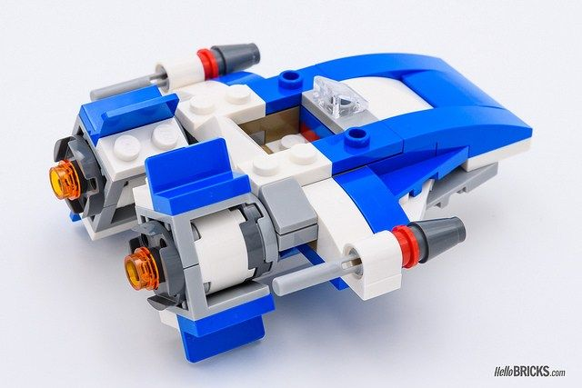 Wing Review A Lego Wars Silencer Star Microfighters 75196 VsTie f76gyYb