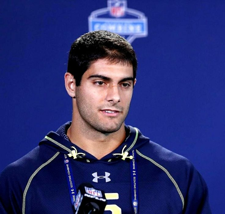Jimmy Garoppolo, from Eastern Illinois in the 2014 NFL draft by the New England Patriots!!!