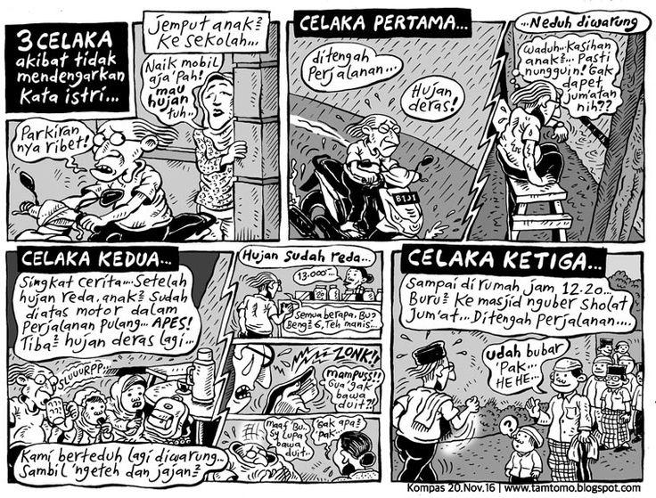 Mice Cartoon, Kompas Minggu Edisi 20 November 2016: 3 CELAKA