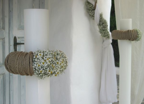 Lovely for a romantic wedding! See more http://bit.ly/lampades-gamou