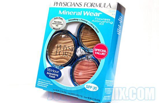 iHerb : Kit de de maquillaje mineral con proteccion solar 30 SPF de Physicians Formula