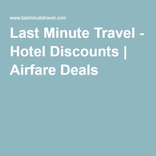 Last minute hotel deals ma