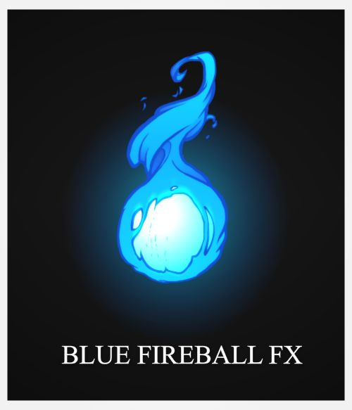 Blue FireBall FX by AlexRedfish.deviantart.com on @deviantART
