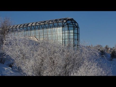 Science center Arktikum in Rovaniemi