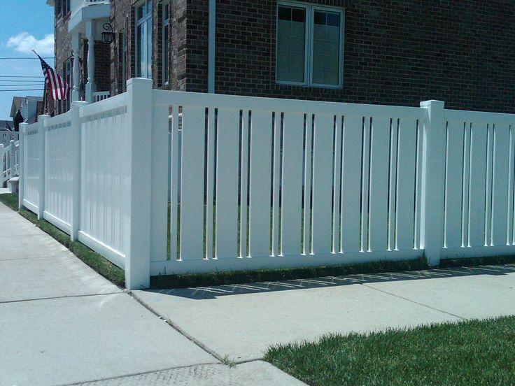 Best white vinyl fence ideas on pinterest