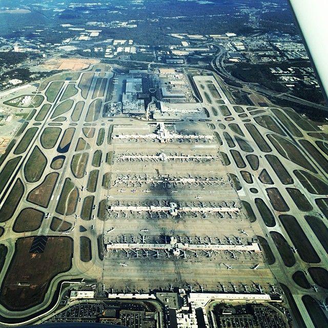 Hartsfield-Jackson Atlanta International Airport (ATL) in Atlanta, GA -- I spend too much of my life here!