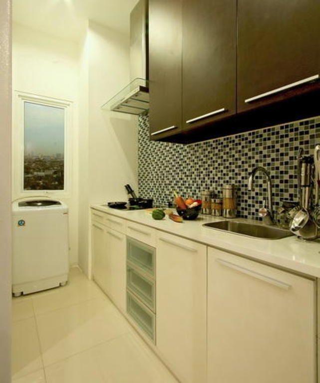 iDEA Online - Interior - Dapur - Dapur yang Sekaligus Ruang Cuci Pakaian
