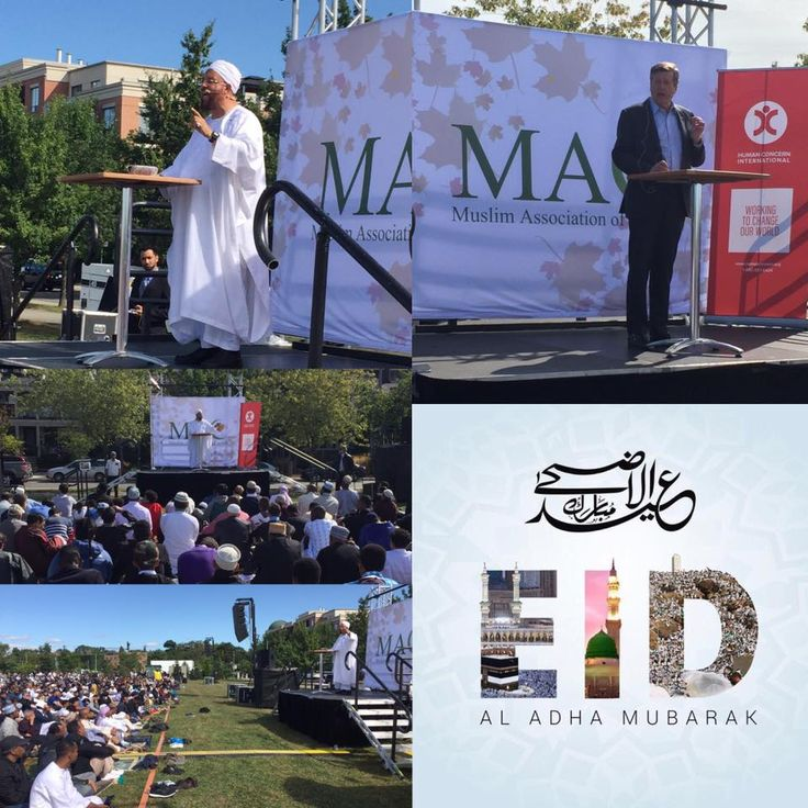 """Muslims of all ethnicities celebrated Eid festivities in Toronto which was themed, """"Diversity is Our Strength""""."""