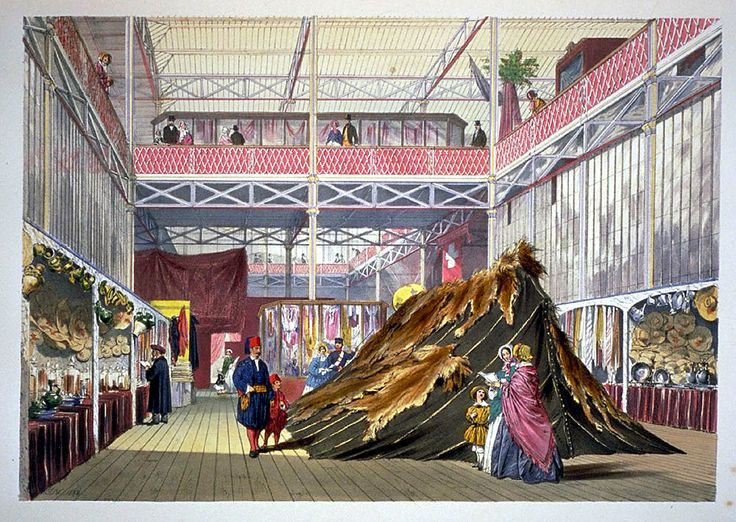 Revisiting the World's Fairs and International Expositions.  Title:Dickinson's comprehensive pictures of the Great Exhibition of 1851  Author: Royal Commission  Imprint:London: Dickinson Brothers, 1854