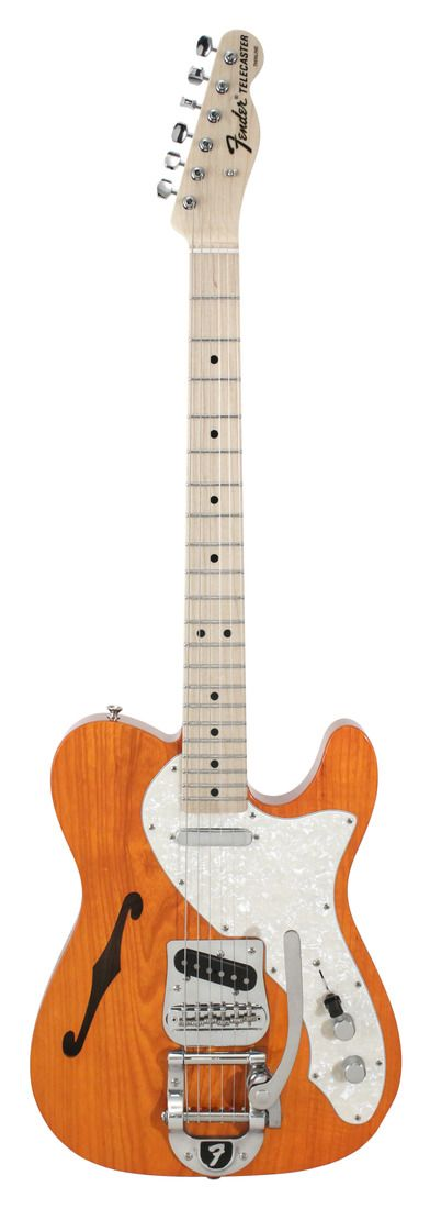 Fender Custom Shop 1969 Telecaster Thinline Bigsby Tennessee Orange