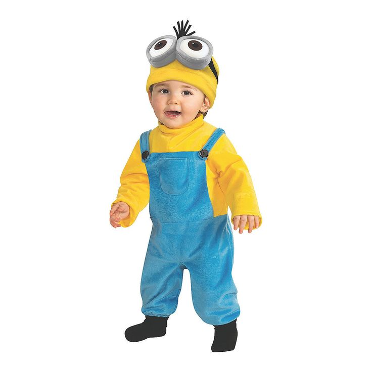 Toddler+Boy's+Minions+Movie+Kevin+Minion+Costume+-+OrientalTrading.com
